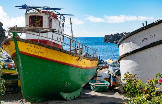 Fischerhafen Sao Martinho, Madeira