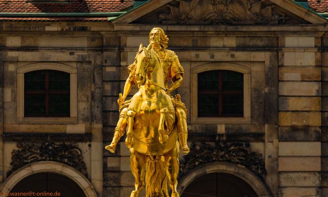 Der Goldene Reiter Dresden