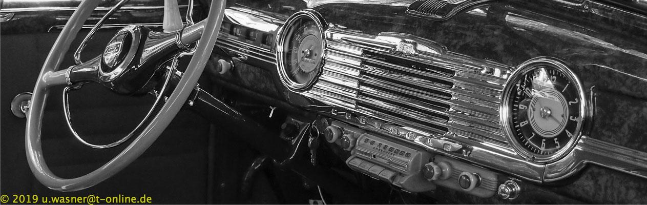 Chevy Armaturenbrett, Oldtimer, Variante in sw