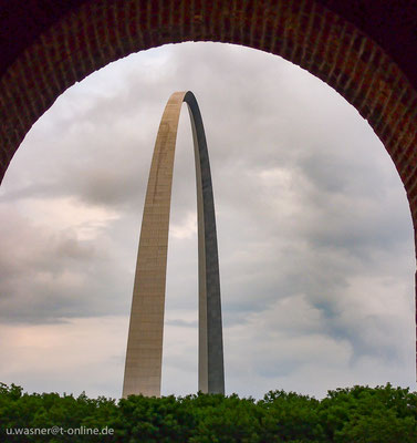 The Gateway Arch / St. Louis / MO /USA