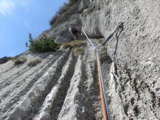 herrlicher Wasser zerfressener Fels