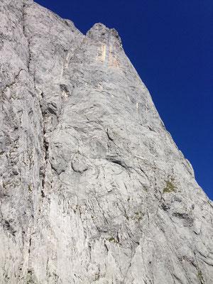 Der Däumling mit seiner Ostkante; 2.322 m