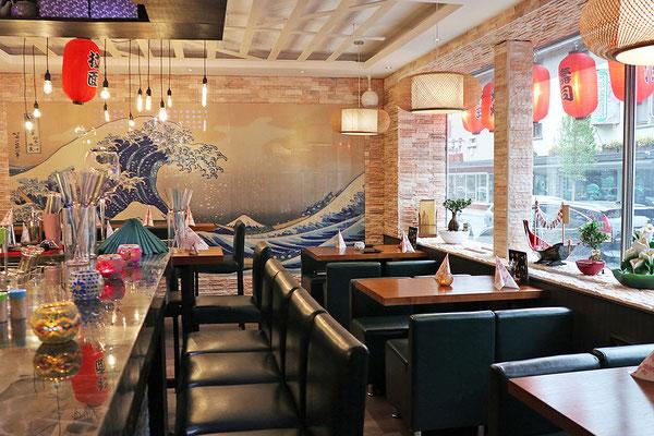 Modernes Restaurant wie im heutigen China