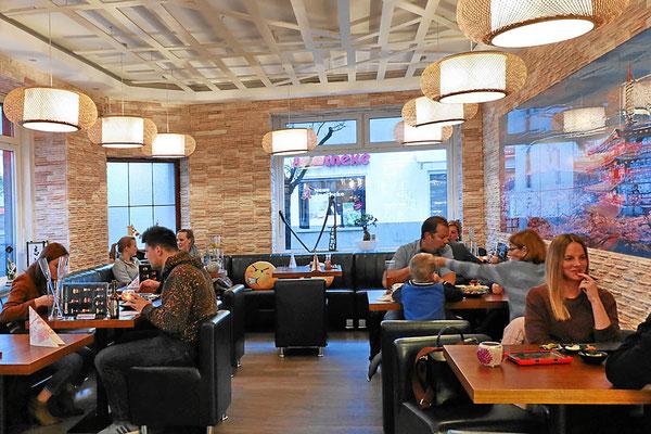 Modernes asiatisches Restaurant