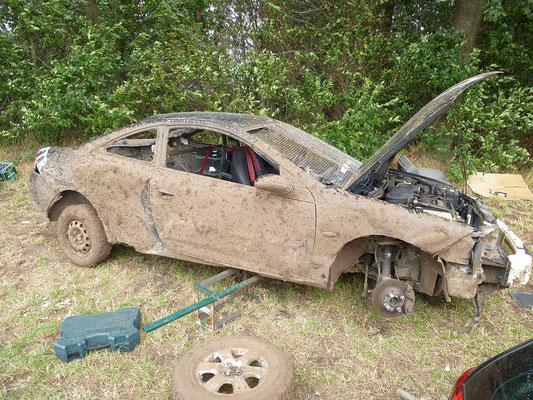 Der defekte Ford von Faried