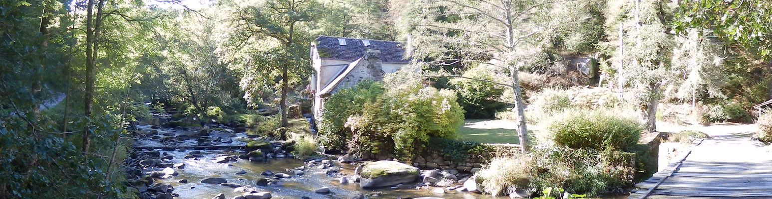 Moulin de la Folie au bord de la Sedelle (Creuse)