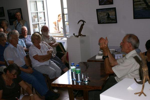 """conférence d'Axel Kahn à propos de son livre """"Entre deux mers"""""""