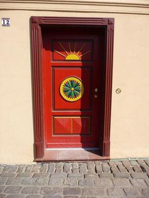 schöne alte Türen in Plau