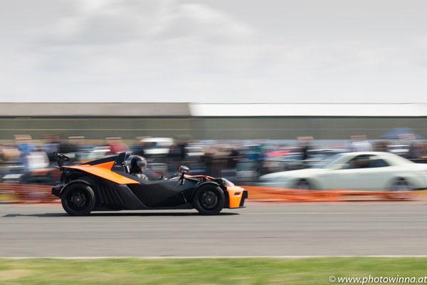 panning KTM x bow racing