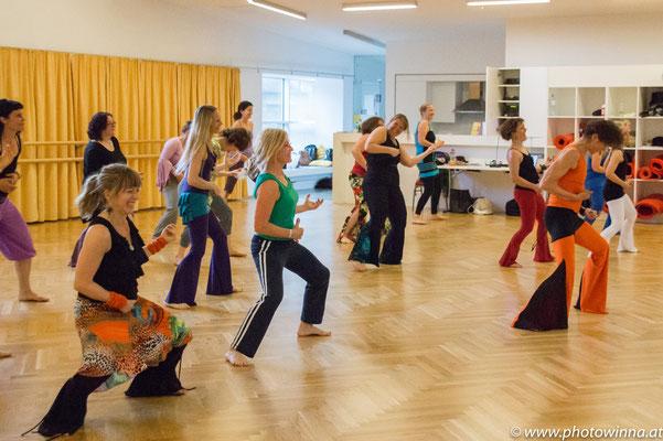 NIA Class dancing