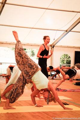 Yoga Dance Festival Yuna Workshopleiter: Suzanne Freiherz 1