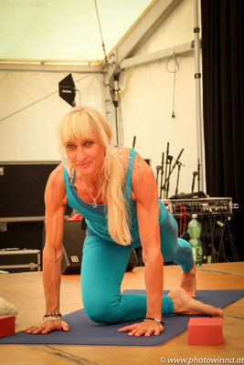 Yoga Dance Festival TriYogaFlow Workshopleiter: Angelika Gaerber