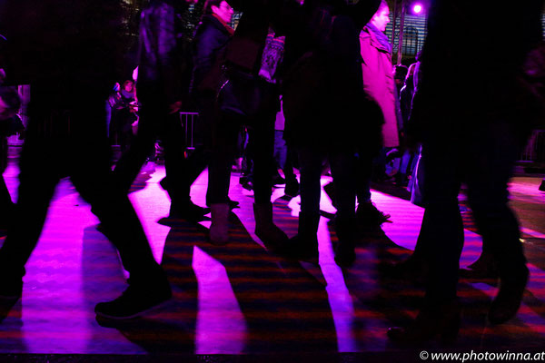 Wien leuchtet - people