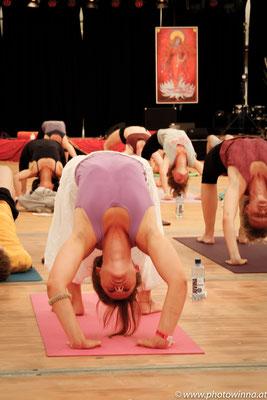 Yoga Dance Festival Jivamukti Yoga Workshopleiter: Birgit Pöltl & Florian Reitlinger