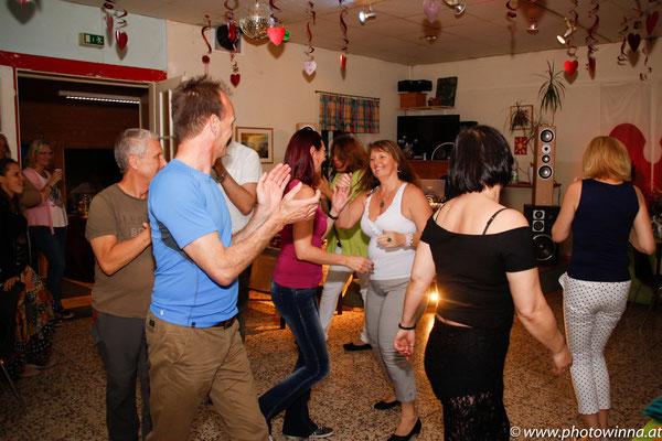 Gäste Feier tanzen