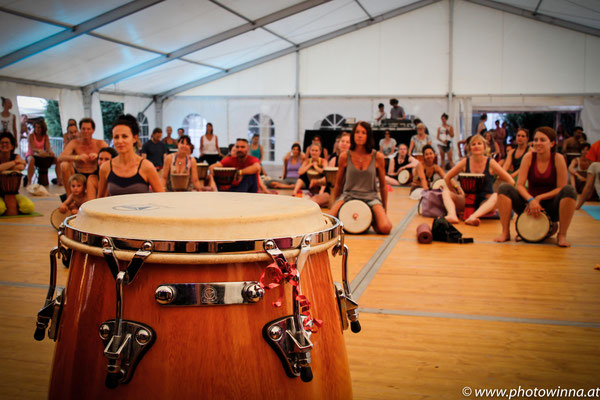 Yoga Dance Festival Trommelworkshop Power-Drums 1