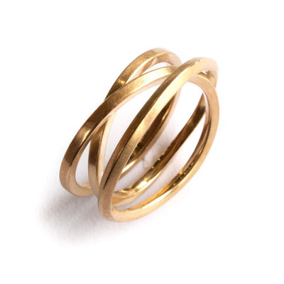 Ring 750er Gold, 3fach
