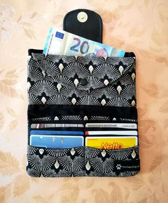 Geldbörse aus Gobelinstoff