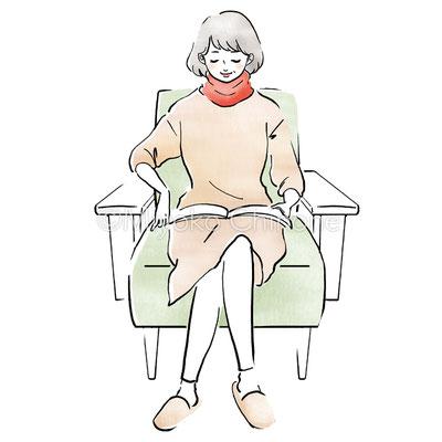 オルビスBody 2019年11月号 挿絵