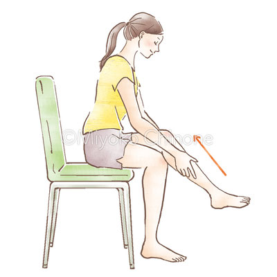 健康情報雑誌「すこやかファミリー」挿絵