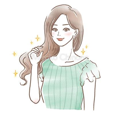 ステファニー化粧品さま「ROSE+」挿絵