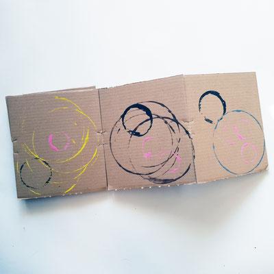 Atelier Création Livre d'art : Leporello Les 3 petits cochons