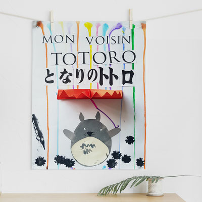 Atelier Création Affiche : Totoro
