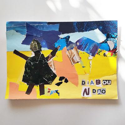 Atelier Création Kamishibai d'après Diabou Ndao de Mamadou Diallo
