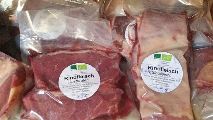 Bio-Fleisch aus eigener Schlachtung