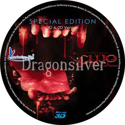 DVD Label Arbeit für Laser Paradise Cujo