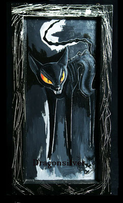 Ning Ning, Acryl auf Leinwand 70  x 30 cm