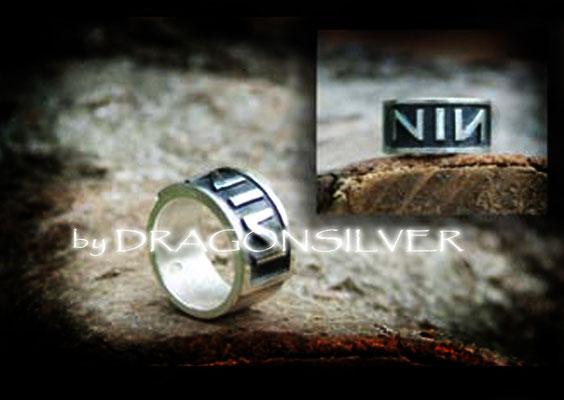 NIN Ring - Sterling Silber