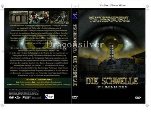 DVD Cover Arbeit für Laser Paradise Dokumentation die Schwelle