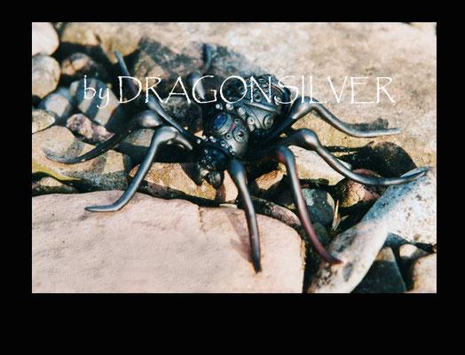 Große Arachne, Räucherstäbchenhalter, Durchmesser ca. 25 cm