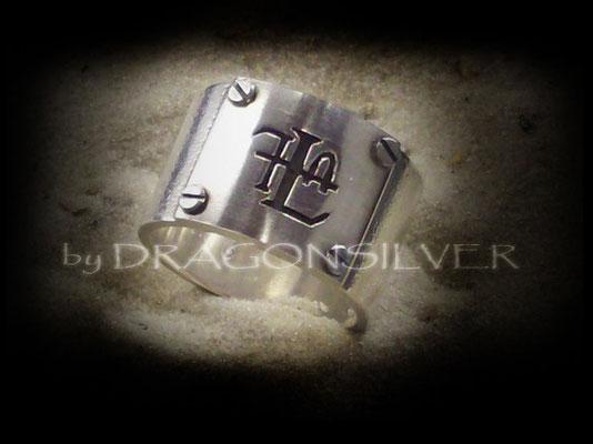 FLA Ring - Sterling Silber - Edelstahl