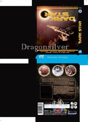 DVD Schuber  Arbeit für Laser Paradise Drk Star 3 D Collection
