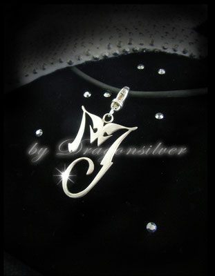 Michael Jackson Tribute Schmuck - Einzelstücke- Sterling Silber - Anhänger History