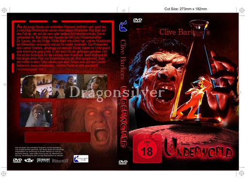 DVD Cover Arbeit für Laser Paradise Underworld