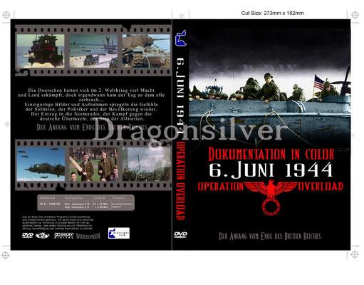 DVD Cover Arbeit für Laser Paradise Dokumentation D-Day