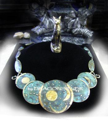Sternscheibe von Nebra - Collier 1 - Gold
