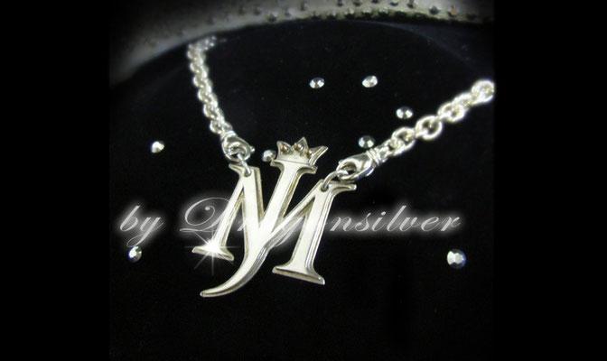 Michael Jackson Tribute Schmuck - Einzelstücke- Sterling Silber - Gold - Collier MJ