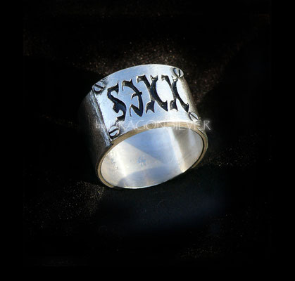 Sixx Ring -  Ring - Gelbgold - Sterling Silber