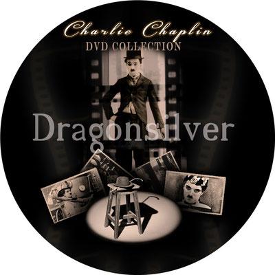 DVD Label Arbeit für Laser Paradise Charlie Chaplin