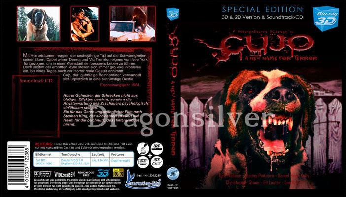 DVD Cover Arbeit für Laser Paradise Cujo