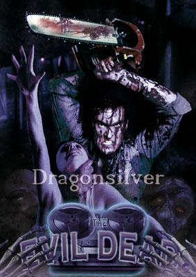 Merchandise Poster Laser Paradise Evil Dead