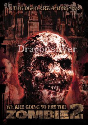 Merchandise Poster Laser Paradise Zombie 2