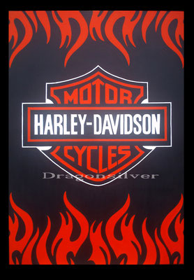 Harly Branding, 100 x 80 cm, Acryl auf Leinwand