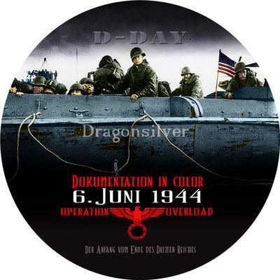 DVD Label Arbeit für Laser Paradise Dokumentation D-Day