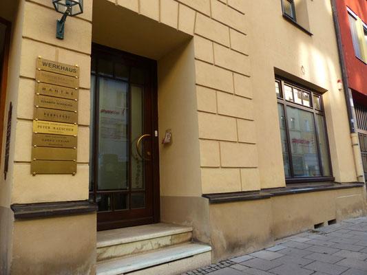 Osteopathie Praxis Gerlach Schwabing  80333 München Maxvorstadt  Amalienstraße Theresienstraße Odeonsplatz