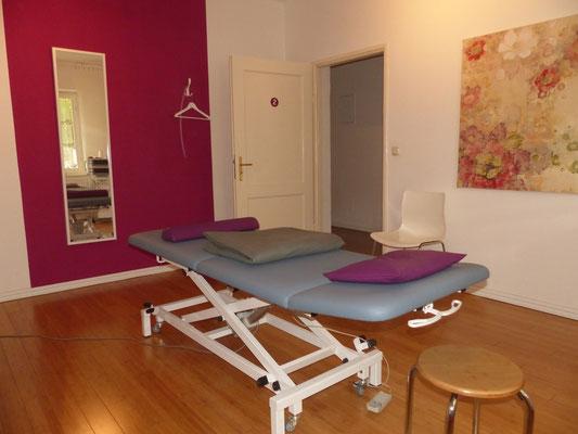 Osteopathie Praxis München Schwabing Maxvorstadt Behandlungsraum